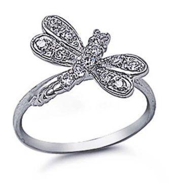 anillos de libelulas